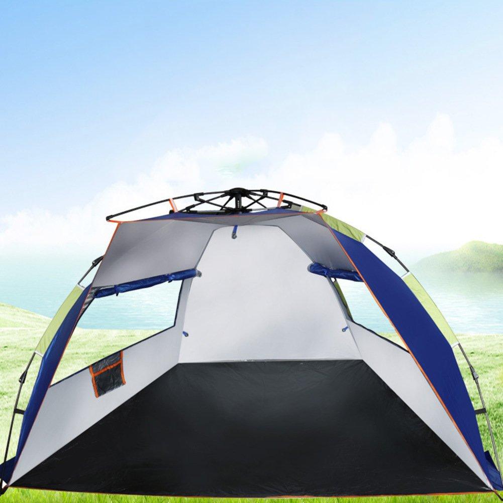 TY&WJ Campingzelt Reise Kuppelzelte Kurze Fahrt Outdoor Zelten Beach Einfache Montage 4-jahreszeiten 2 Personen