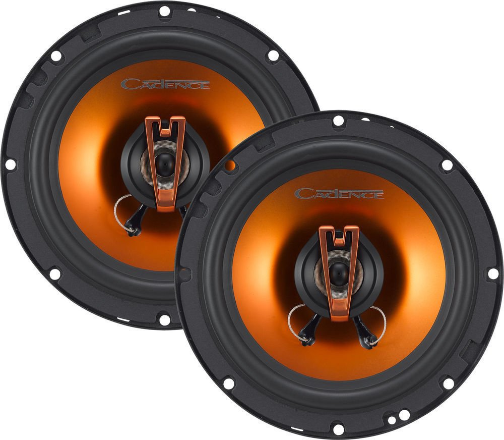 Cadence Acoustic S Q522 200W 5-1/4-Inch 2-Way Q-Series Coaxial Car Speakers, Set of 2 Cadance Acoustics Q552
