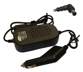 Power4Laptops Sony Vaio VGN-A72PB Cargador Adaptador DC para Coche ...
