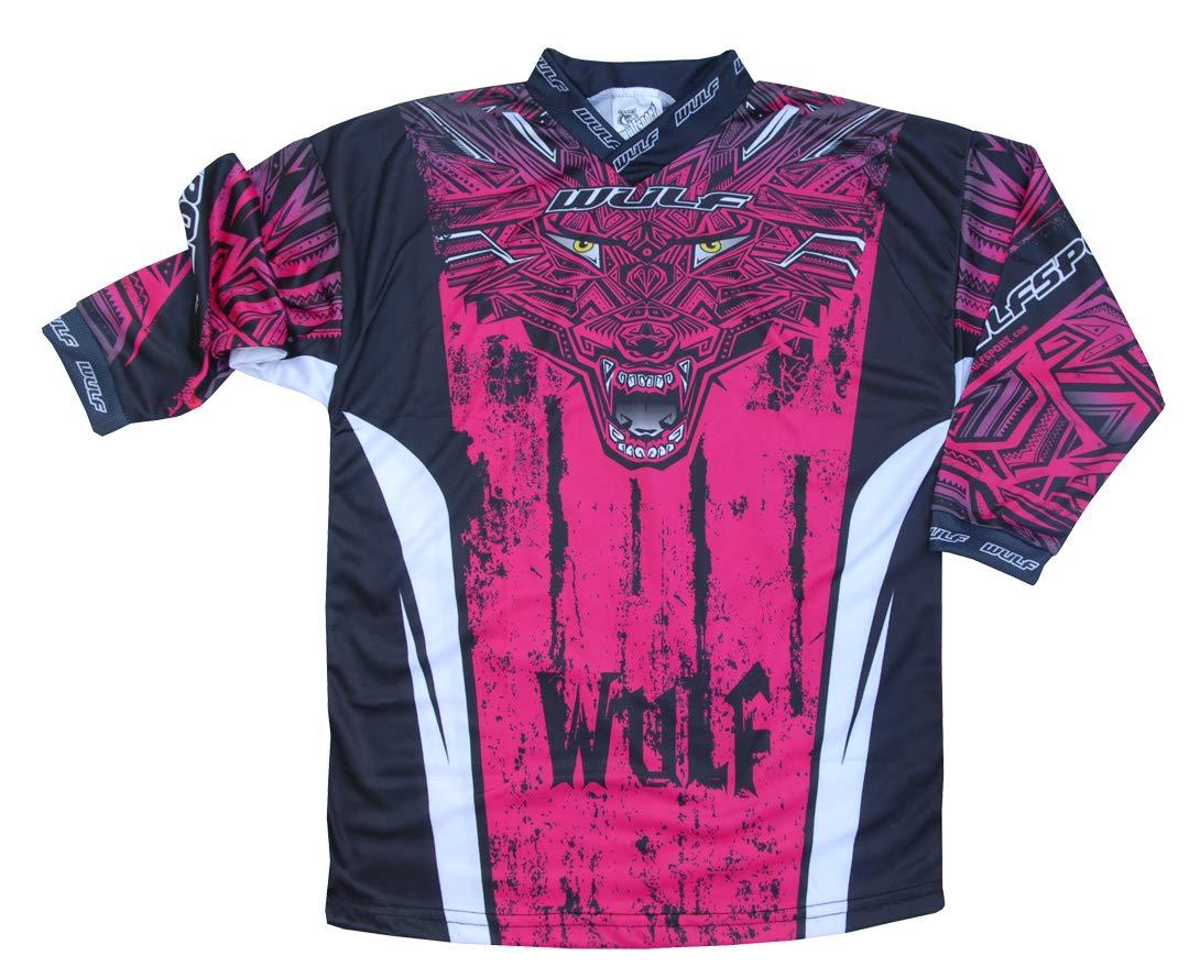 Wulf Aztec KIDS RACE SUIT New 2019 Motocross Quad Off Road Trials Enduro Kart ATV MTB MX Dirt Bike Pit Sport Junior Pant Shirt Kit Green 5-7 years With Waist 22