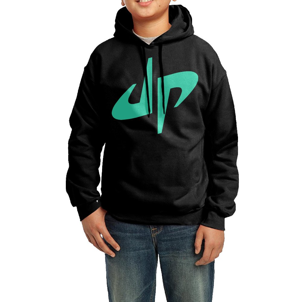 Kid's Youth Dude Perfect Logo Hoodies Pullover Hooded Sweatshirts