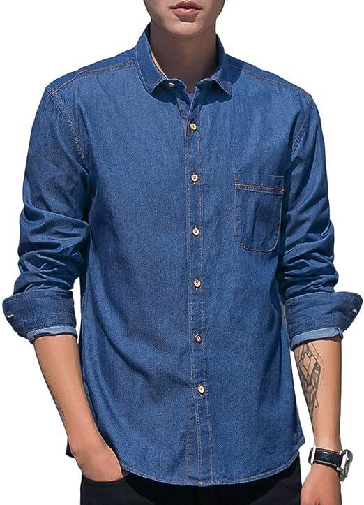 GSHGA XXGCamisa de Doble puño para Hombre, -100% algodón, Camisa de Manga Larga Oxford Camisa Liviana Top de Manga Larga, Camisa Informal Transpirable - para Acampar, Viajar: Amazon.es: Productos para mascotas