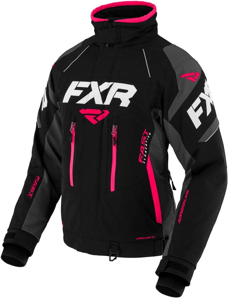 FXR Womens Adrenaline X Jacket 2020 Black//Charcoal//Fuchsia - 8