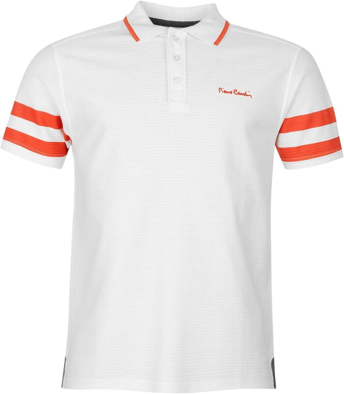 Pierre Cardin diseño de rayas espalda camisa de Polo para ...