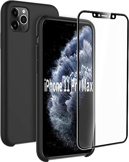 EasyAcc Custodia iPhone 11 PRO Max Cover Chiara [Retro PC Rigido