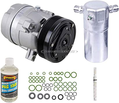 For Buick LeSabre For Pontiac Old Complete A//C Repair Kit w// Compressor /& Clutch