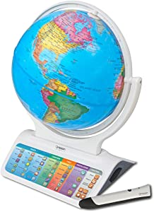 Oregon Scientific SG328 Smart Globe Infinity 2.0 Educational World Geography Kids Learning Toy Bluetooth Pen