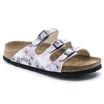 6ec124d3f4a Image Unavailable. Image not available for. Color  Birkenstock Women s  Florida Pixel Rose Birko-Flor Sandal