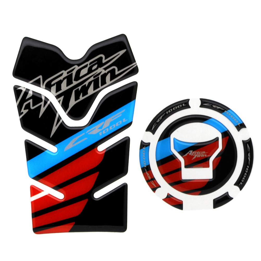 3D Tank Gas Tank Cap Pad Filler Cover Sticker Decals for Honda Africa Twin CRF1000L by primitive man