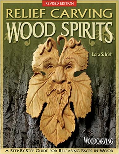 Book Relief carving wood spirits: A step-by-step guide for releasing faces in wood