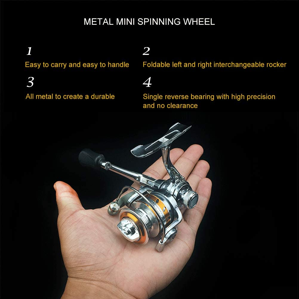 Mekta Mini Ultra Smooth Lightweight Fishing Reel Powerful ...