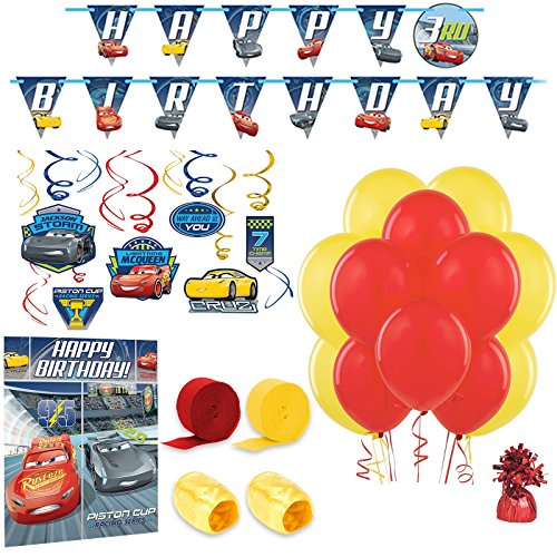 Disney Cars Party Supplies Room Decoration Kit ()