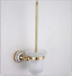Toilet Brush Home Antiguo baño de latón Cromado en Suite. Escobilla de Inodoro Inodoro