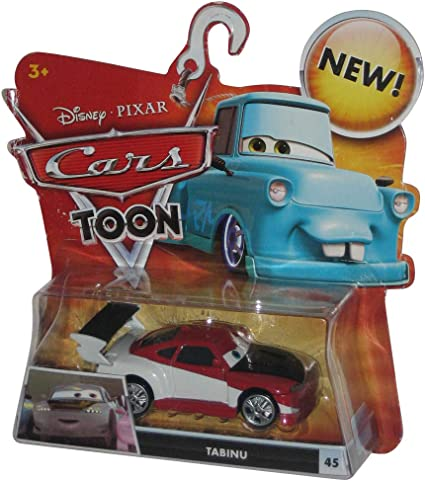 Amazon Com Disney Pixar Cars Toon 155 Die Cast Car Tabinu Toys Games