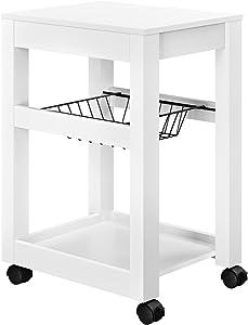 Altra Furniture Altra Parsons Storage Cart, White