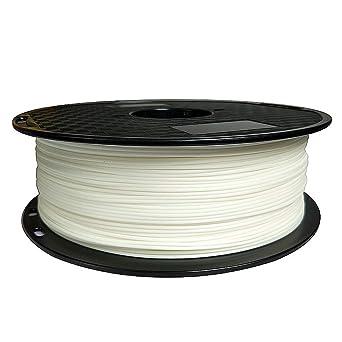 Filamento para impresora 3D mate PLA, 1,75 mm, 1 kg, materiales de ...