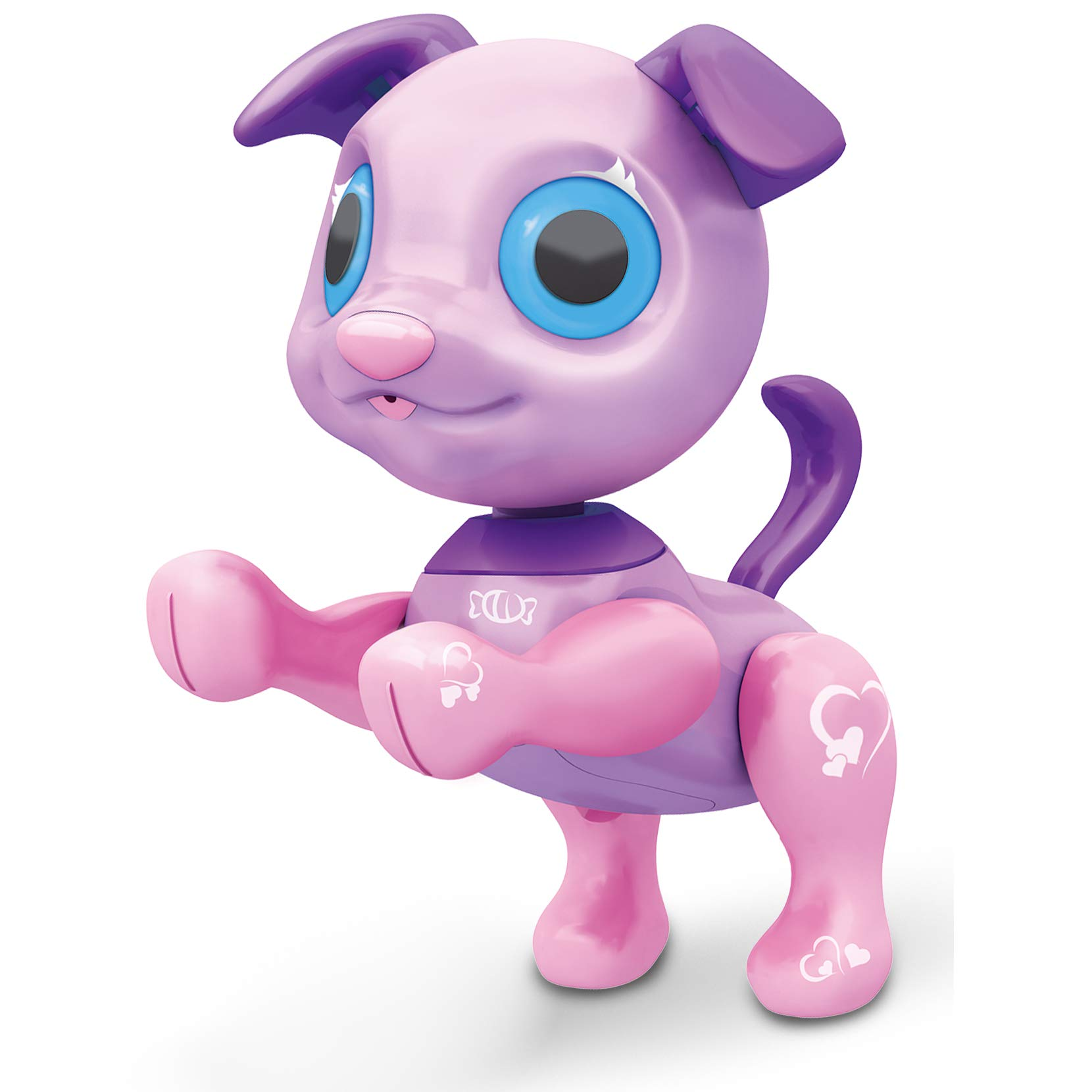 Liberty Imports My Best Friend Interactive Smart Puppy | Kids Electronic Pet Toy Robot Dog | Ideal Gift Idea for Girls (Purple) by Liberty Imports (Image #1)