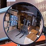"RELIUS SOLUTIONS OC1800 Convex Safety Mirrors, Acrylic, 18"" Diameter"