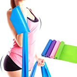 Kasstino 1.5m Elastic Yoga Pilates Rubber Stretch Resistance Exercise Fitness Band