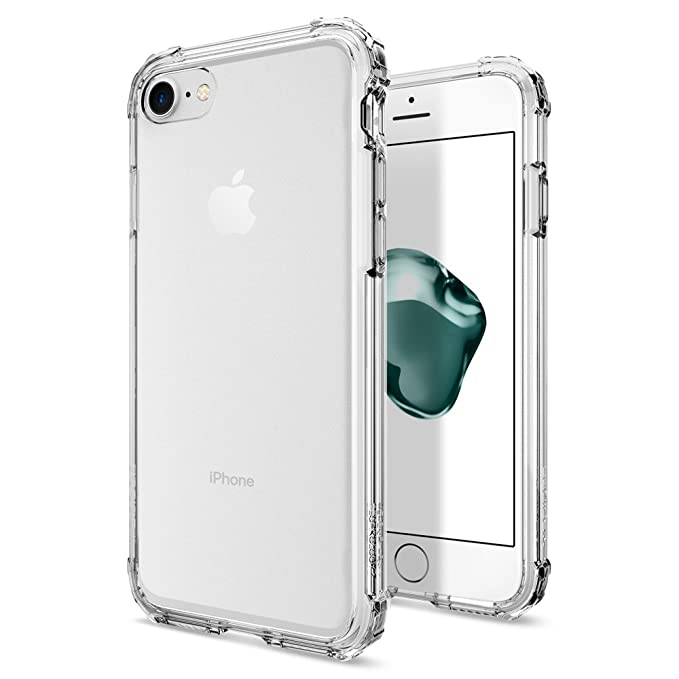 coque iphone 8 plus spigen crystal shell