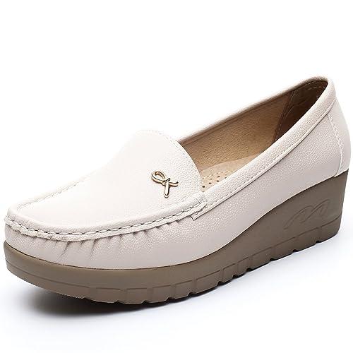 Décontracté Élégant Fait Confortables Chaussures Plates, 37 EU, Noir