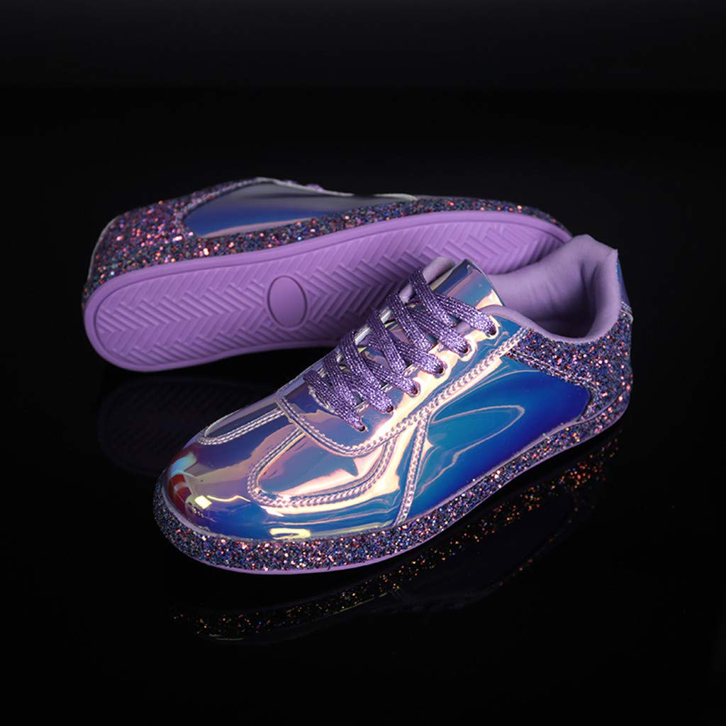 ✔ Hypothesis/_X ☎ Womens Running Shoes Reflective Casual Shoes Gym Outdoor Sport Sneakers Colorful Sports Shoes