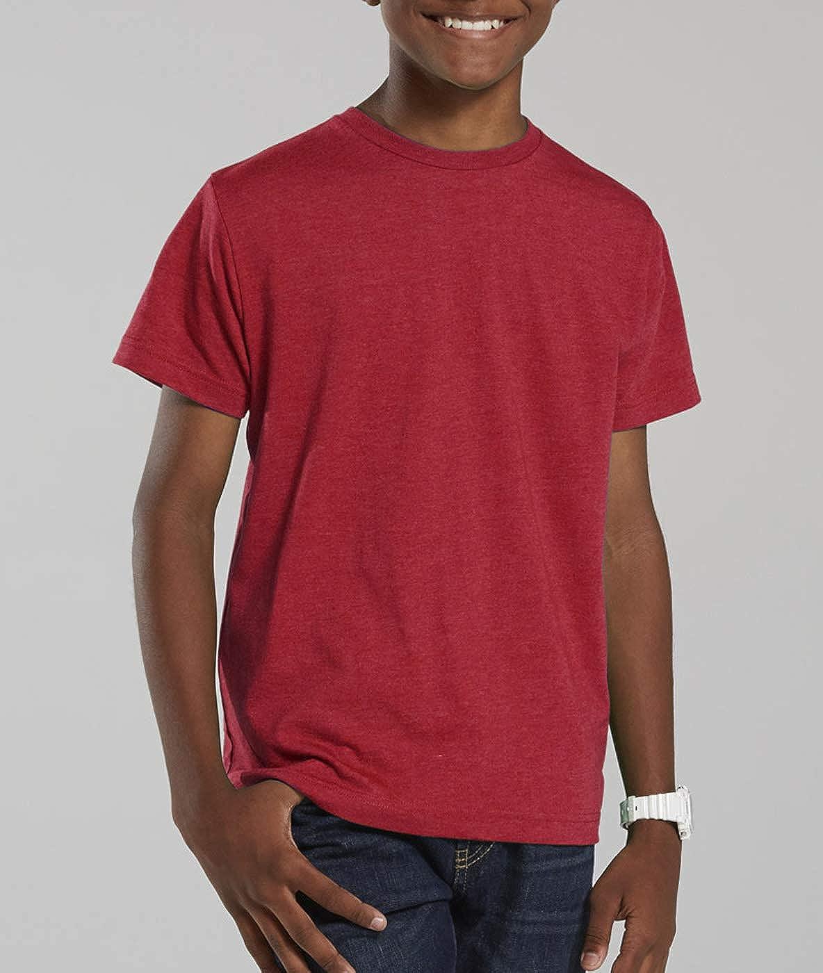 LAT Sportswear Big Boys Heathered Fine Jersey T-Shirt
