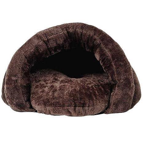 PETTEMOO Cama para Mascotas, Saco de Dormir Suave y cálido, Cama para Perro,