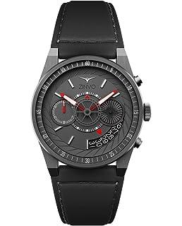 be87437fd19 Zinvo Luxury Men s Chrono Wrist Watch - Premium Italian Leather Watch Band  - 42mm Chronograph Watch