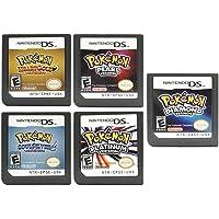 Ny Pokemon hjärta guldversion, soul silverversion, platina-version, diamantversion, pärlversion spelpatroner spelkort…