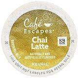 k cup chai latte - Cafe Escapes Chai Latte K-Cups, 11.7 oz, 96 Count
