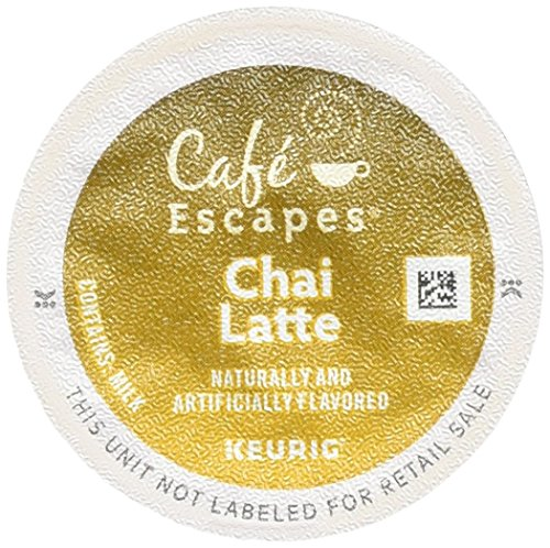 Cafe Escapes Chai Latte K-Cups, 96 Count