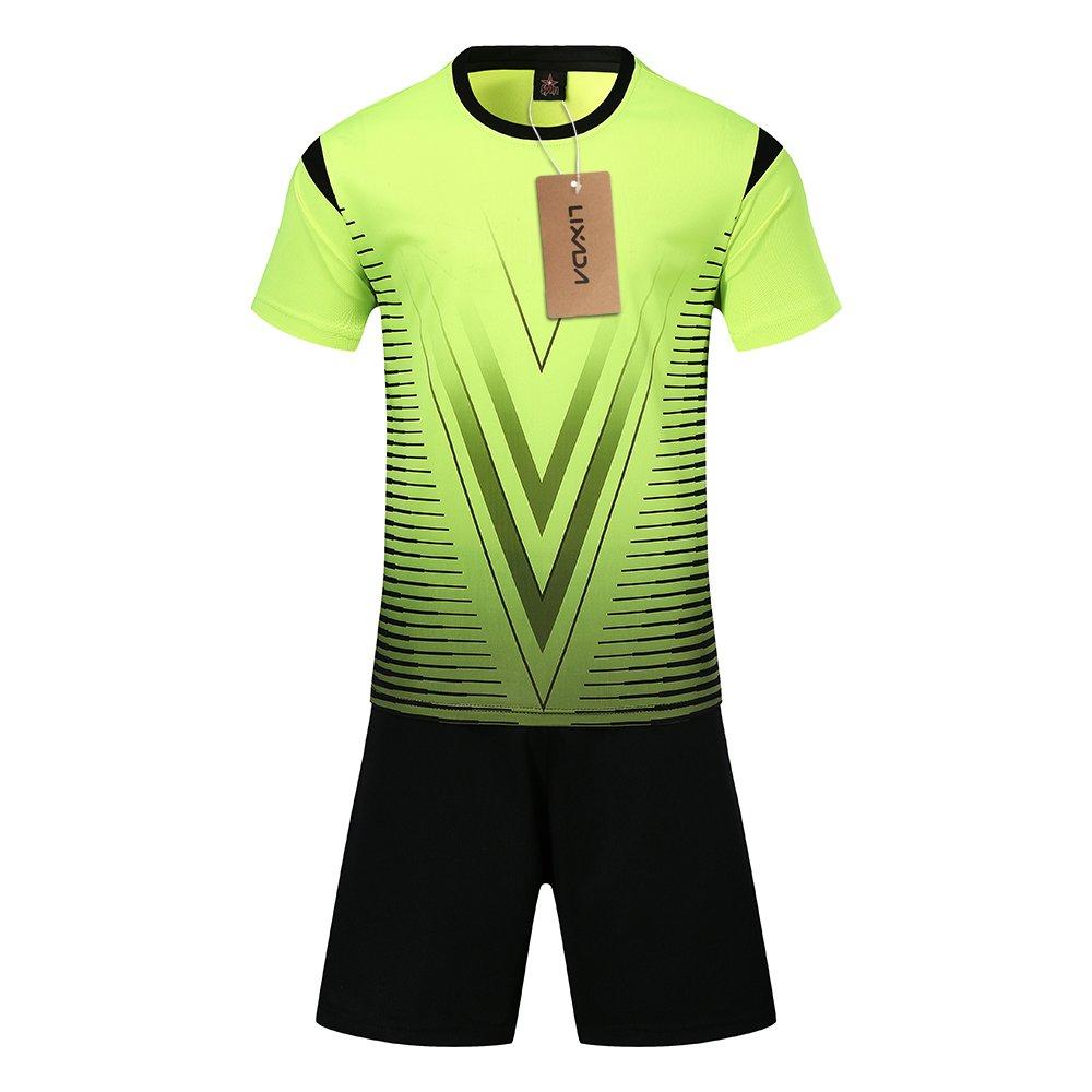 Lixada Fu/ßball Trikots Set Professional Erwachsene//Kinder Breathable Fu/ßball Set Fu/ßball Trikots Uniformen Kinder Fu/ßball Kit Shirt Trainingsanzug