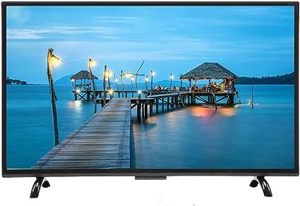 Kafuty TV de Pantalla Curva Grande de 43 Pulgadas 3000R Curvatura 4K HDR HD Smart TV 1920x1200 Resolución Versión de Red para Android 110V(EU Plug): Amazon.es: Electrónica