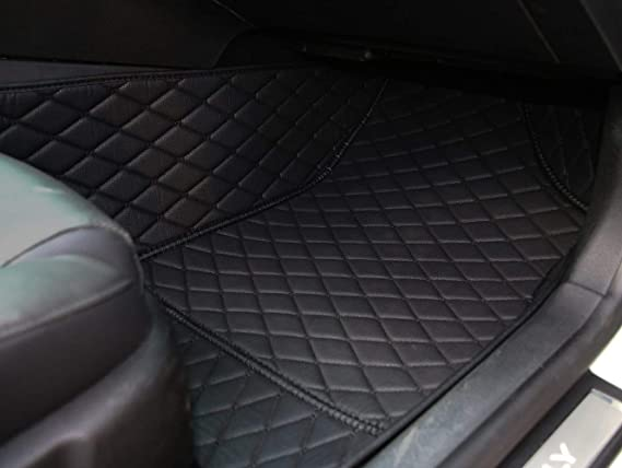 Black with Grey Trim Connected Essentials CEB750 Car Mat Set for CLS Prestige Bootmat 2005-2011
