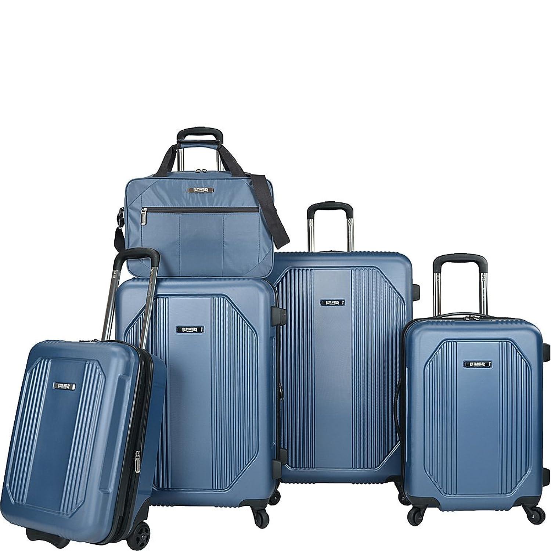 Amazon.com | U.S Traveler Bloomington Carry-on 6-Piece Luggage Set ...