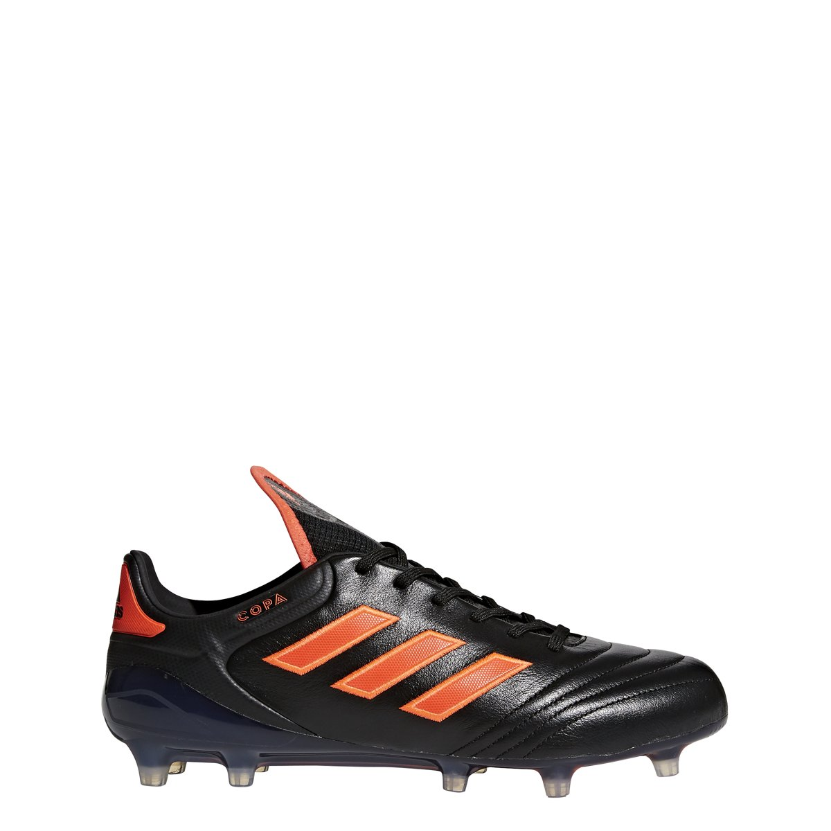 adidas Men's Copa 17.1 FG Soccer Cleat (Black, Solar Red) B076DGZ9Q7 12 D(M) US|Black, Solar Red, Solar Red