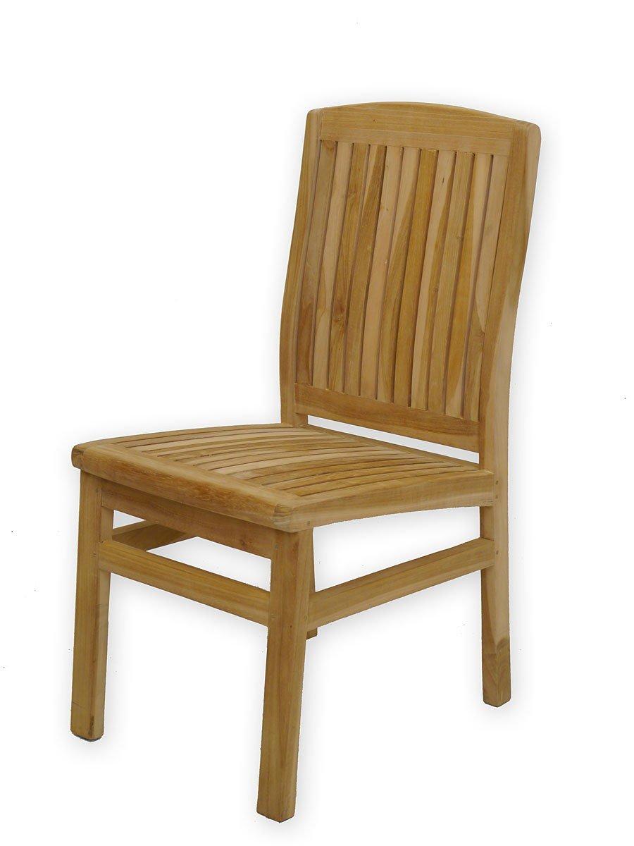 2er Set Gartenstühle aus feinsten Teakholz