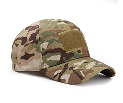 c820905c7f648 ZARRS Baseball Cap Camo,Tactical Hat Unisex Army Military Camouflage Cap  Men Women Multicam Style Caps for Hunting Fishing Camping Green: Amazon.co. uk: ...