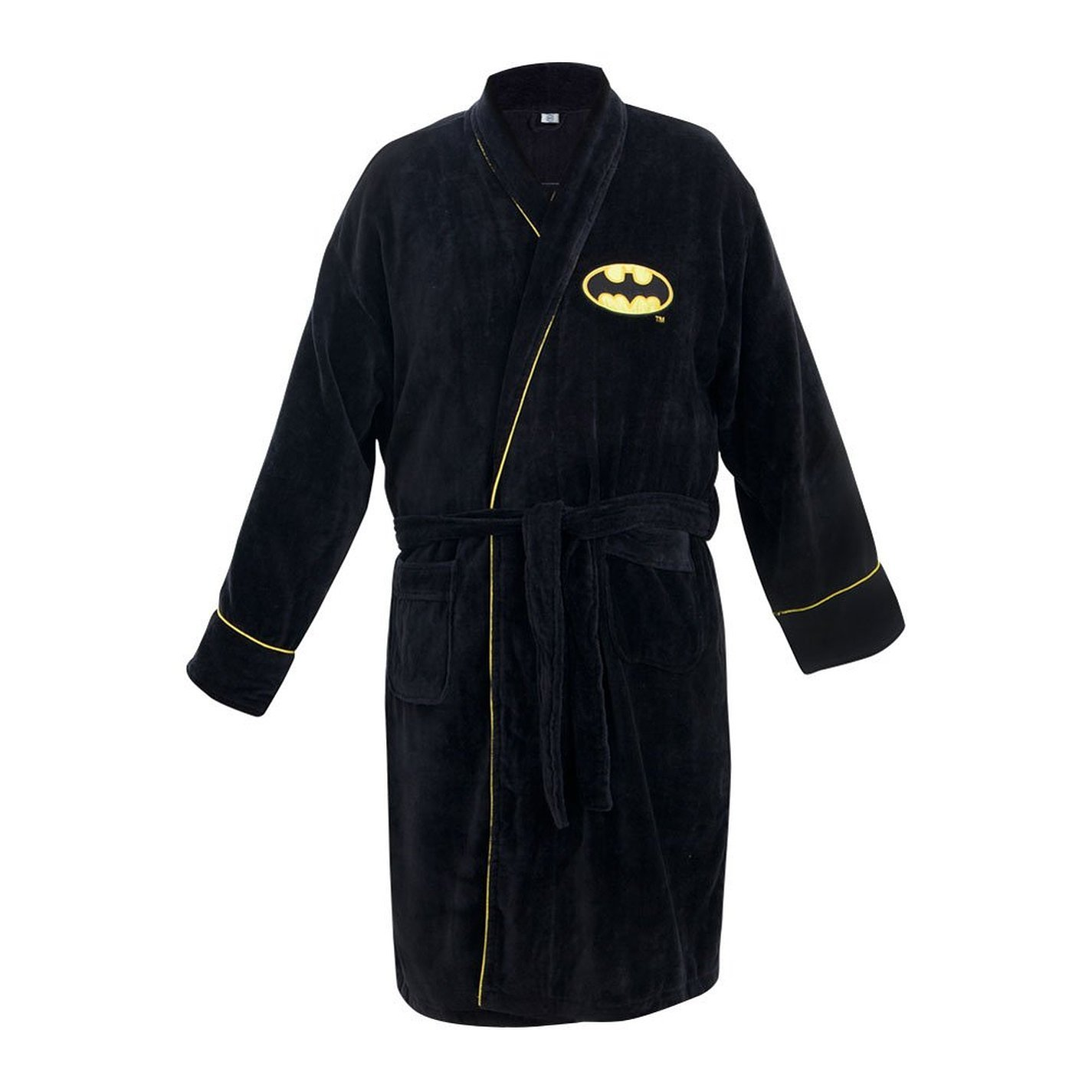 Amazon.com: Batman Adult Fleece Bath Robe, Black, One Size: Clothing