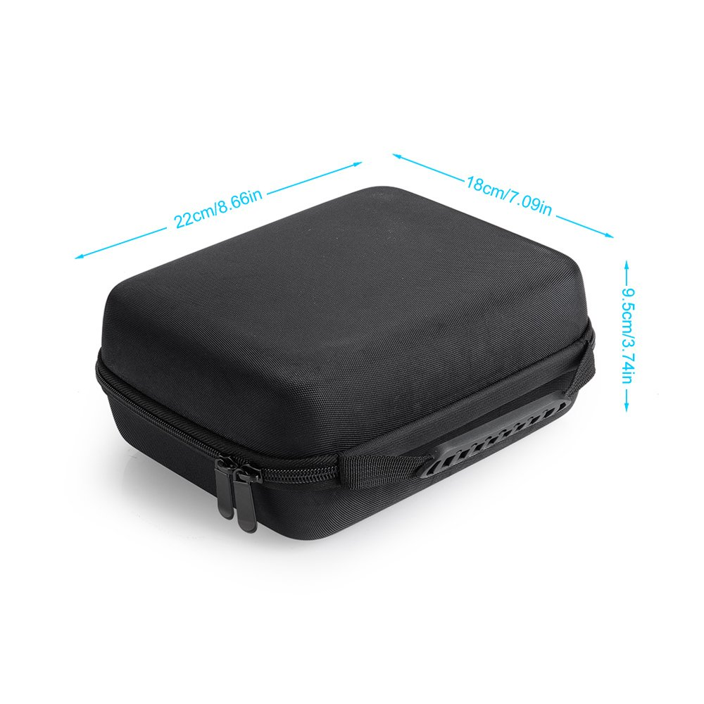 Pergear Portable Protective Carrying Case with 4 Sponge Pieces for Feelworld FW759 Monitor