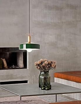 Lámpara De Techo Multicolor De Aluminio Y Madera Ajustable ...