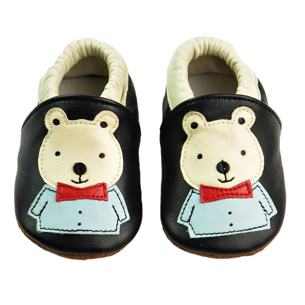 d17bb470fd48f Missbleu Baby Soft Soled Toddler Shoes Soft Leather Crib Shoes Infant Shoes