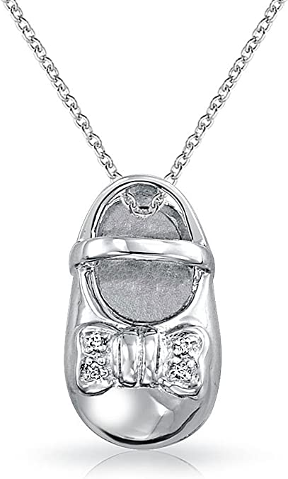 Sterling Silver Womens 1mm Box Chain 3D MIDDLE SISTER Pendant Necklace