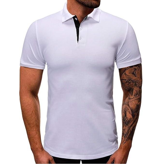 Camisetas De Los Hombres Camisa De Manga Corta Hombre Verano ...