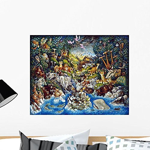 Wallmonkeys Noah's Quandary Wall Mural by Bill Bell (24 in W x 19 in H) WM43660