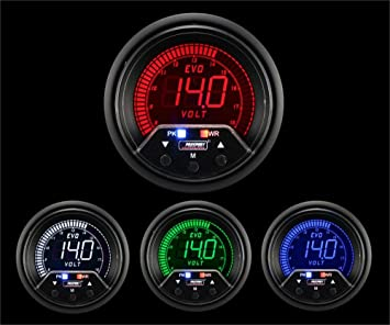 Prosport Universal 52mm Premium Evo Electrical Water Temperature Gauge