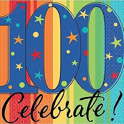 Amazon.com: Un año para celebrar 100º cumpleaños party ...
