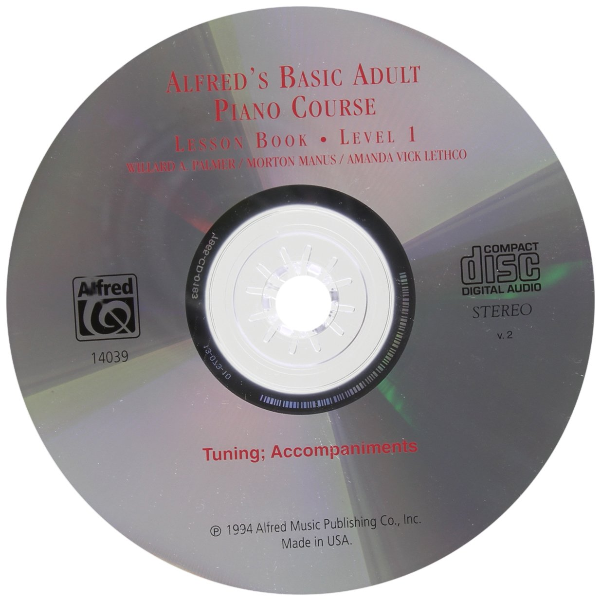 Top 10 Best alfred basic adult piano course level 1 Reviews
