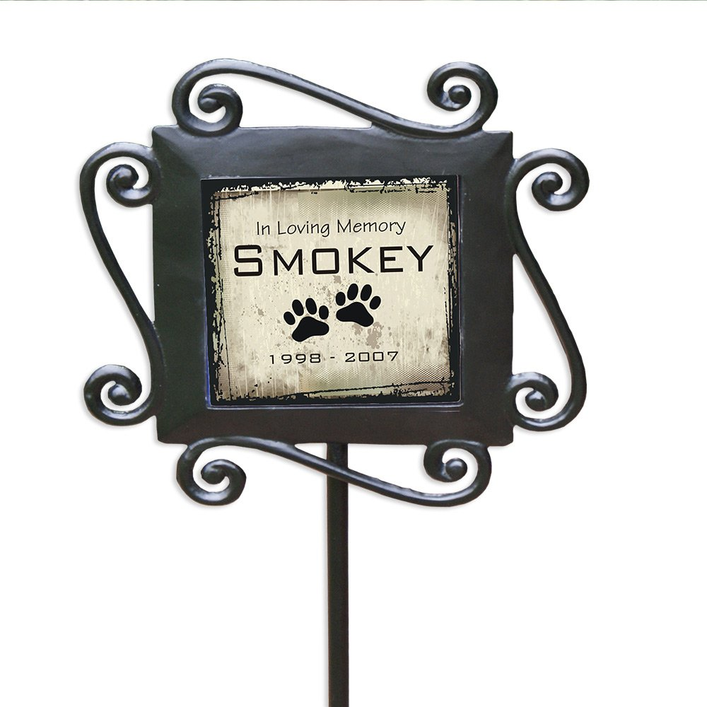 GiftsForYouNow Pet Memorial Personalized Garden Stake